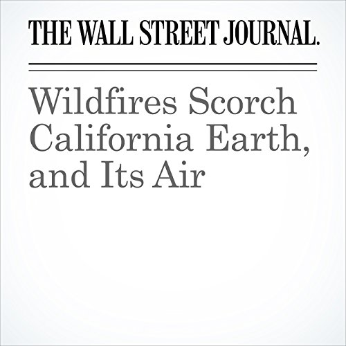 Wildfires Scorch California Earth, and Its Air copertina