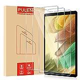 [3 Pack] PULEN Protector de Pantalla para Samsung Galaxy Tab A7 Lite 8.7' (SM-T220/SM-T225) Cristal Templado,9H Dureza [Anti Arañazos] Film Protective