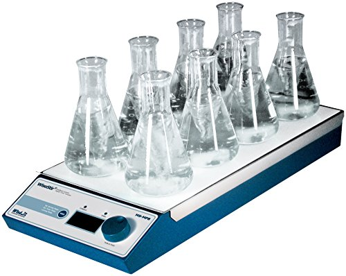 Witeg MS-MP8 Magneetmixer met 4x2 punten 80-1.2000 omw/min, voor het mengen van monsters in de microbiologie of biochemie