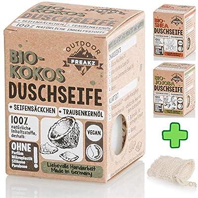 Bio Duschseife Seifensäckchen ohne