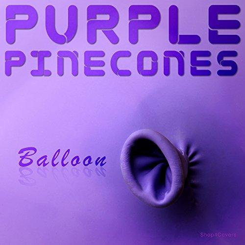Purple Pinecones