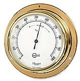 Barigo Schiffshygrometer Tempo, Messing, 110mm, 783 -