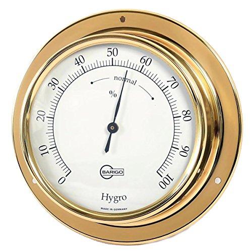 Barigo hygromètre modèle tempo en laiton