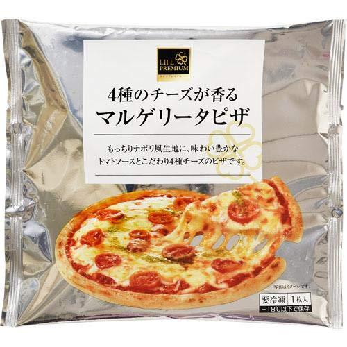 ライフプレミアム 4種チーズマルゲリータピザ1枚