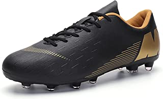 Eisrumu Mens Football Boots FG/TF Breathable Outdoor Soccer Training Shoes Boys Girls Professional Athletics Sneakers for ...