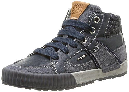 Geox Mythos, Zapatillas para Niños, Navy/Dark Grey, 31 EU