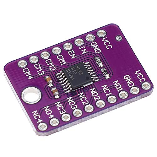Placa de desarrollo SPDT, interruptor analógico SPDT de repuesto duradero para computadora para circuito de comunicación
