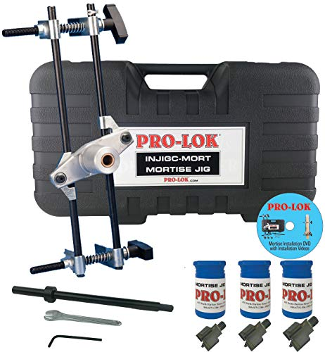 Pro-Lok INJIGC-Mort Mortise Lock and Faceplate Installation Jig Kit