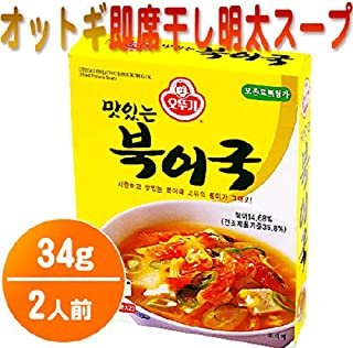 [KFM] Korean Food Instant Dried Pollack Soup 34g (17g x 2) ??? ???