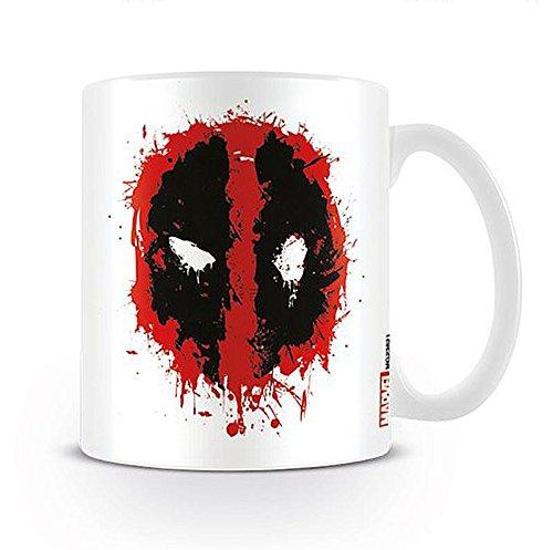 Deadpool Tasse Splat Logo, aus Keramik
