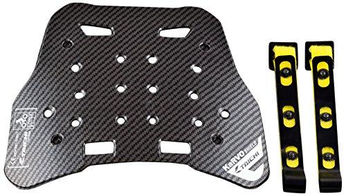 RSタイチ(アールエスタイチ)胸部プロテクター ブラック (MEN'S) KaRVO強化シールド TRV073