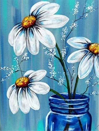 Paint by Numbers Kit Diy art still life vase and gift no Painting by numbers-40x50cm-No Frame
