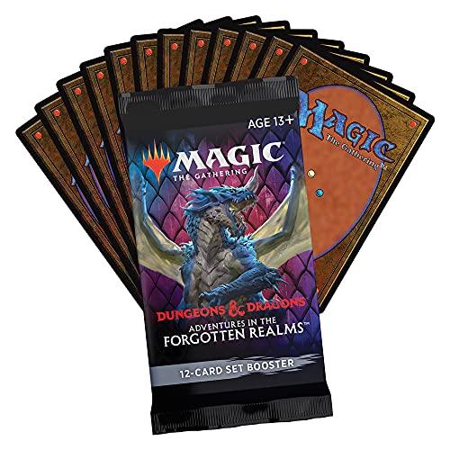 Booster de coleção de Magic: The Gathering, Adventures in Forgotten Realms | 12 cards de Magic – Em inglês