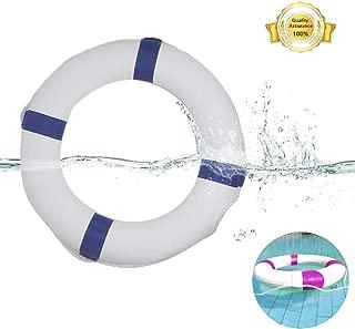 Kikula Children/Adult Swim Foam Ring Buoy Swimming Pool Safety Life Preserver with Perimeter Rope