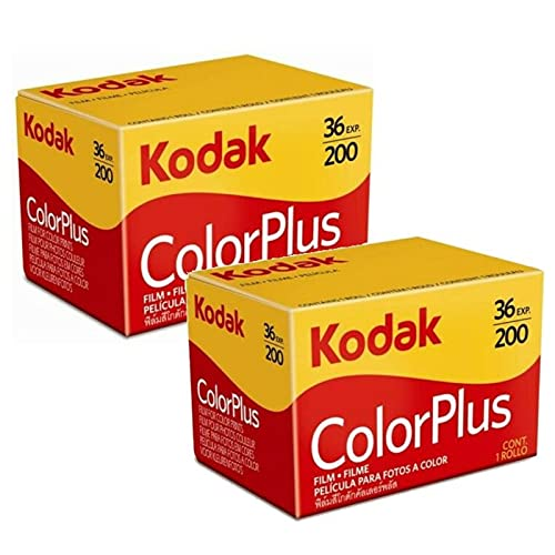 Kodak Colorplus 200 asa Farbfilm (à 36 Bildern) 2 Stück