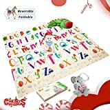 Best Baby Playmats - Extra Large Baby Play Mat Foldable Reversible Non Review