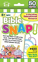 Bible Snap Christian 50 Count Game Cards