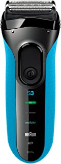 Braun Series 3 3010s ProSkin Rechargeable Wet & Dry Electric Shaver, Blue