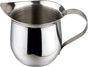 BESTONZON 2PCS 150ml/5oz Stainless Steel Milk Pourers Coffee Pull Flower Tool Moka Pot Milk Foam Beat Fancy Cup Kitchen Accessorie
