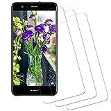 CNXUS Compatible pour Verre Trempé Huawei P10 Lite[3 Pièces] Verre Huawei P10 Lite, Vitre Protecteur Dureté 9H, sans Bulles,...