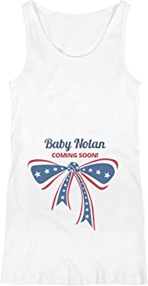 July 4th Baby Nolan Coming Soon: Maternity Preggers and Proud Tank