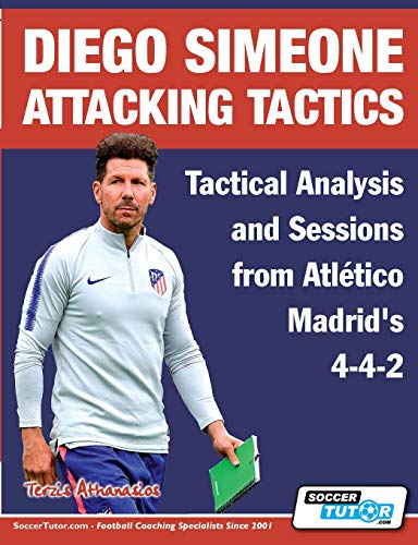 Diego Simeone Attacking Tactics - Tactical Analysis and Sessions from Atlético Madrid's 4-4-2 (2) (Diego Simeone Tactics)