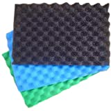 Egg Box Type Foam Pond Filter Replacement Pads x 3...