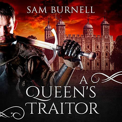 Couverture de A Queen's Traitor: A Medieval Historical Fiction Novel