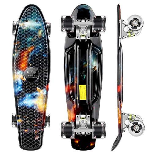 WeSkate Kinder Retro Skateboard 22