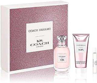 COACH New York Coach Dreams Live Yours Eau De Parfum For Women, 90ml + 7.5ml + Body Lotion, 100ml Set
