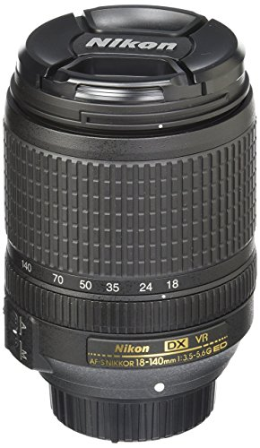 Nikon AF-S DX 18-140mm f/3.5-5.6G ED VR Lens (Refurbished)