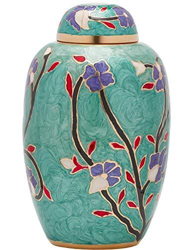 Ansons Urns Flower Cremation Urn