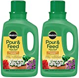 Miracle-Gro Pour & Feed Plant Food (Liquid), 32 fl. oz. - 1006002 Pack of 2