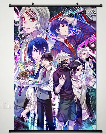 Tokyo Ghoul Anime Wall Art Home Decoration Scroll Poster