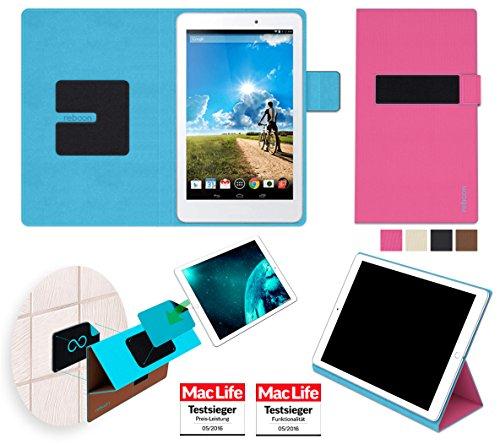 Hülle für Acer Iconia Tab 8 Tasche Cover Hülle Bumper | in Pink | Testsieger