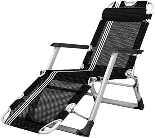 OESFL Reclining Outdoor Folding Chairs Lounge Chair Happy beach chair Home adult multifunctional chair Portable Comfortable