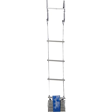 緊急避難はしご 2-Story Emergency Fire Escape Ladder 並行輸入品