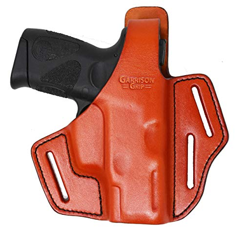 Best Buy! Garrison Grip Premium Full Grain Italian Leather 2 Position Tactical Holster (TAN) (fits P...
