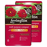 Tigerbox 2 x 10 Litre Levington John Innes No.3 Compost Repotting Mature Plants