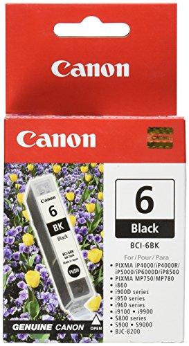 Canon BCI 6 Tintenpatrone, 280 Seiten, Schwarz
