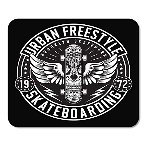 Mousepad Computer Notepad Büro Skateboard Skateboard Freestyle Grafik Urban Label Athletic Lifestyle Skater Wear Heimschule Game Player Computer Worker Inch