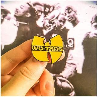Wu Tang Clan Pinback Button Enamel Hat Pin Gangsta Rap Hip Hop Pin Gift for Music Lover Collectors
