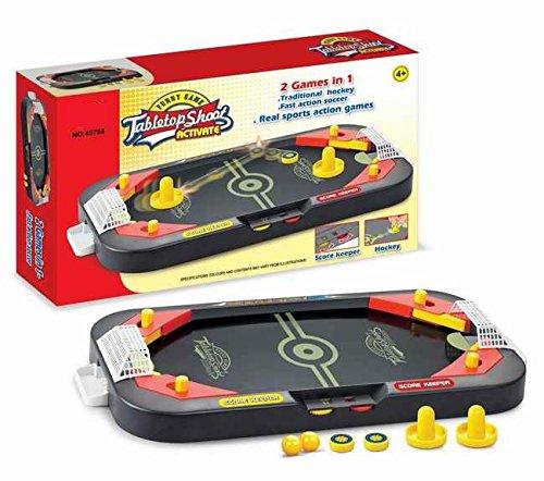 Neo Toys–Gioco da Tavolo: Due in Un Air Hockey Pinball, 45788
