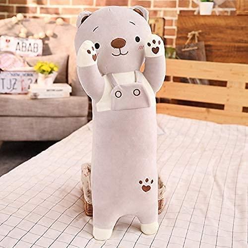 Peluche oso lindo almohada para dormir 70cm, regalo de cumpleaños para niños y niñas-Baby Playmate-Decoración del hogar