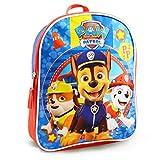Paw Patrol Mini Backpack for Kids ~ Premium 11' Paw Patrol School Bag for Toddlers (Paw Patrol School Supplies Bundle)
