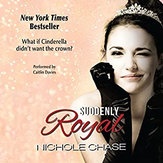 Suddenly Royal audiobook cover art