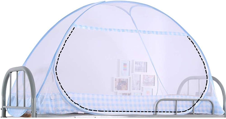 Sunny Pop-up-Moskitonetz, Zusammenklappbares, Tragbares Zelt-Verschlüsselungsnetz Für Das Studentenheim, 3 Gren (gre   150cm(W)×190cm(L)×90cm(H))