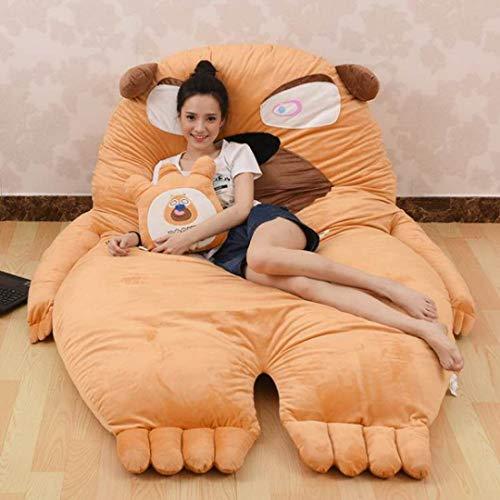 Materasso 130 x 190 cm, morbido, spesso, spesso, motivo: cartone animato, super morbido, letto da letto
