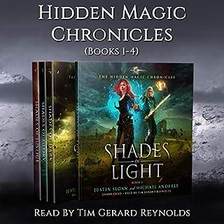 The Hidden Magic Chronicles Boxed Set: Shades of Light, Shades of Dark, Shades of Glory, Shades of Justice cover art