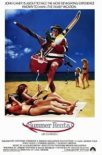 Summer Rental Poster Movie 27x40 John Candy Rip Torn Richard Crenna